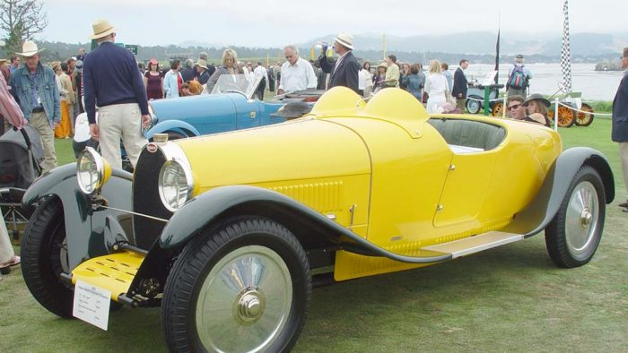 1926 Bugatti Type 38 Gaston Grummer Roadster