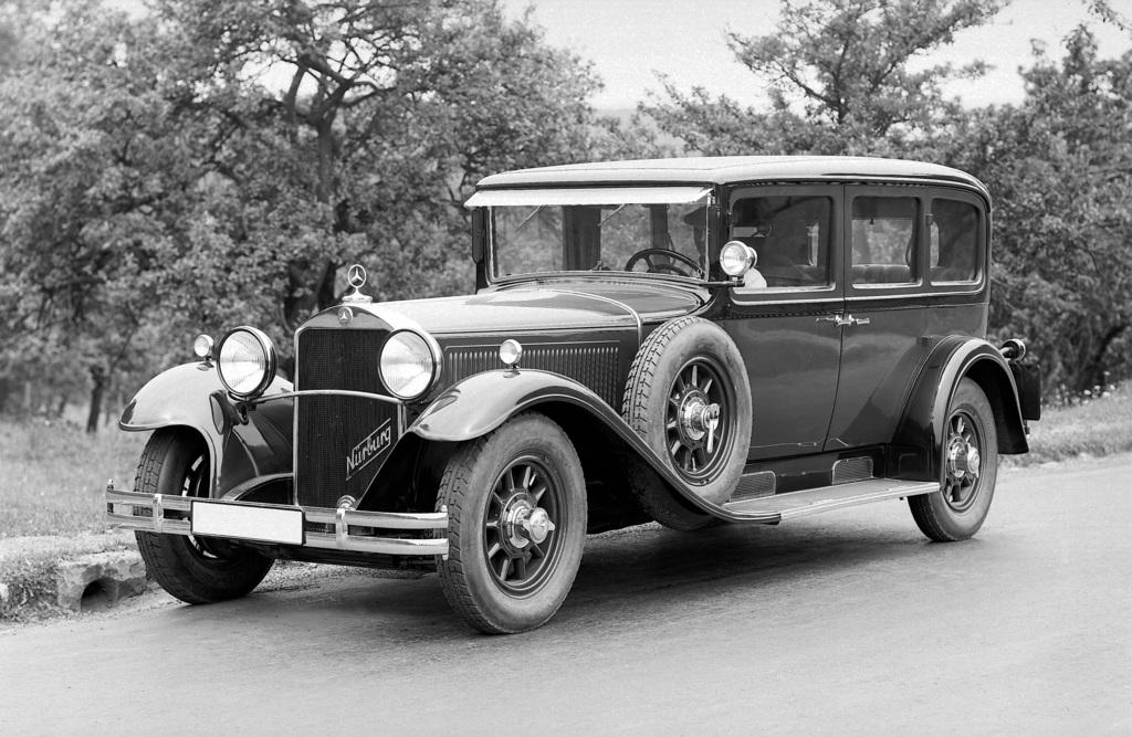 1928→1933 Mercedes-Benz 460 Nürburg