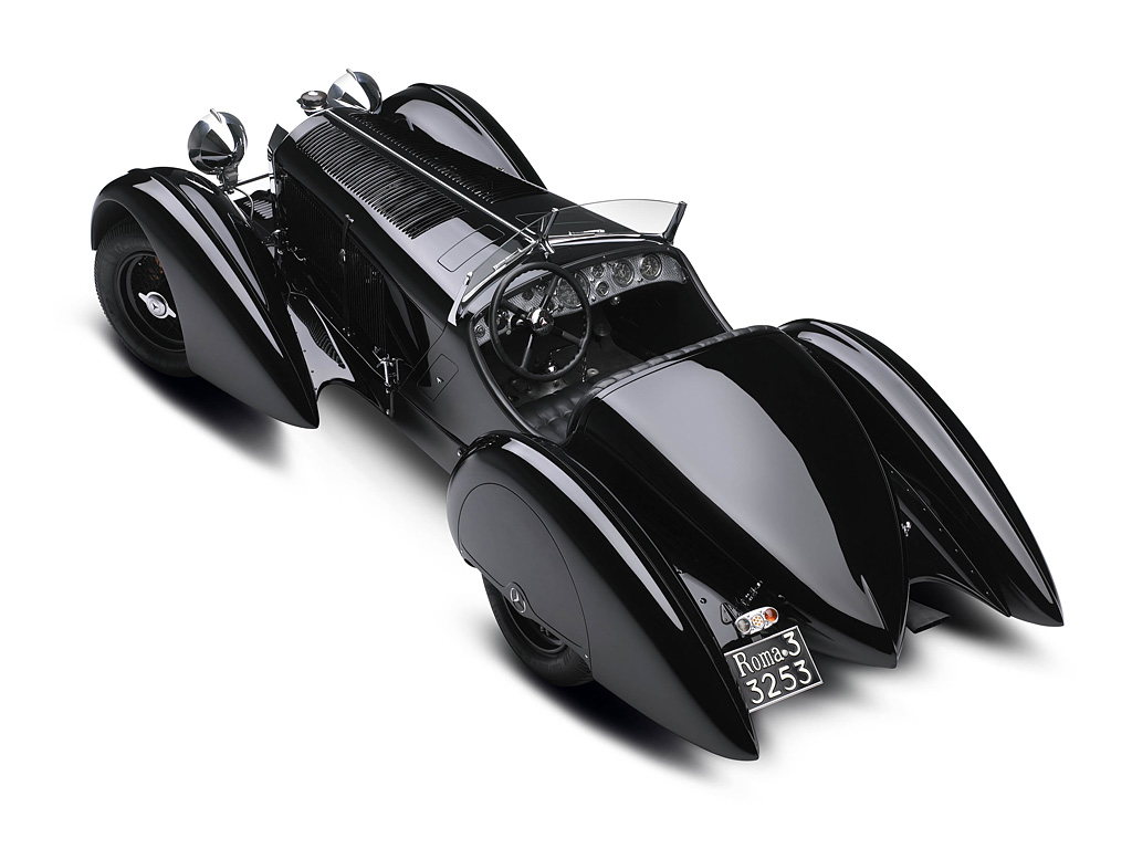 1930 Mercedes-Benz 710 SSK Trossi Roadster