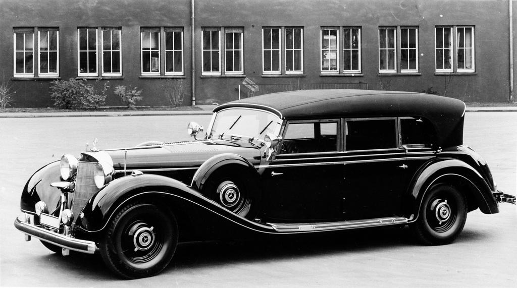 1930→1943 Mercedes-Benz 770 Großer