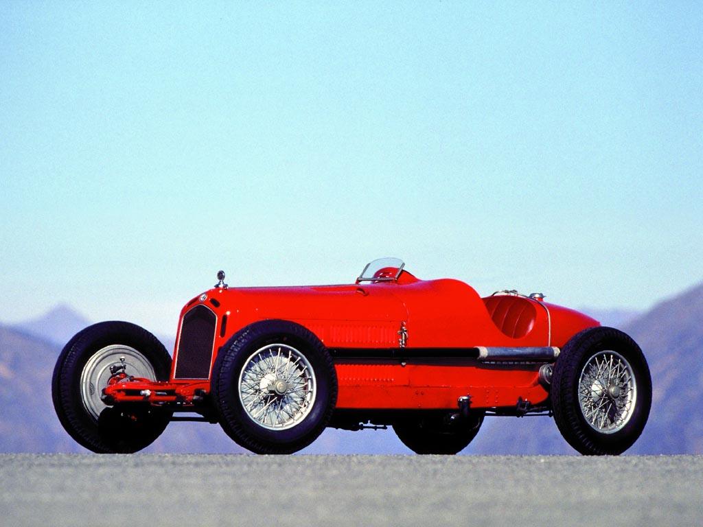 1931 Alfa Romeo 8C 2300 Monza
