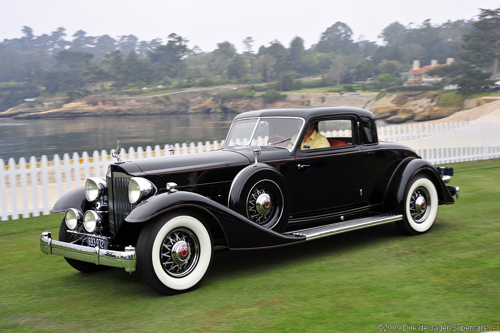 1933 Packard Twelve Model 1006 Review Supercars Net
