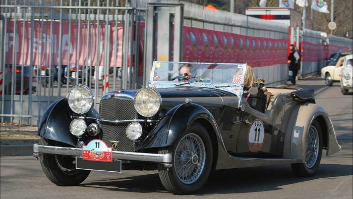 1934 Alvis Speed 20