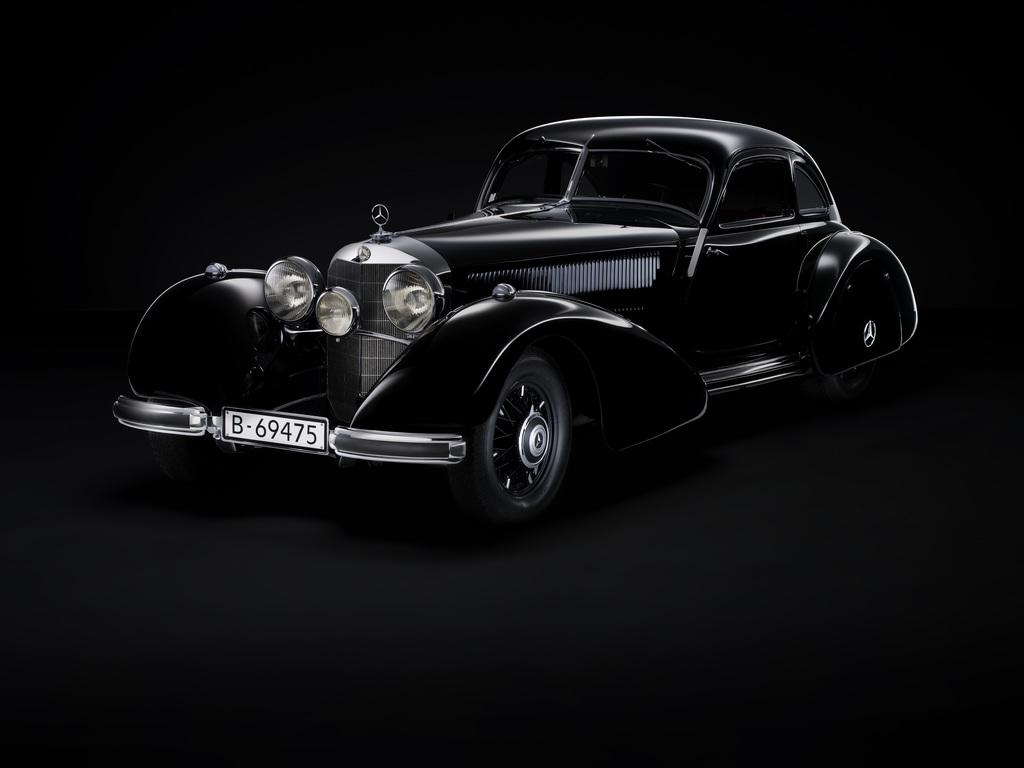 1934→1938 Mercedes-Benz 540 K Autobahnkurier