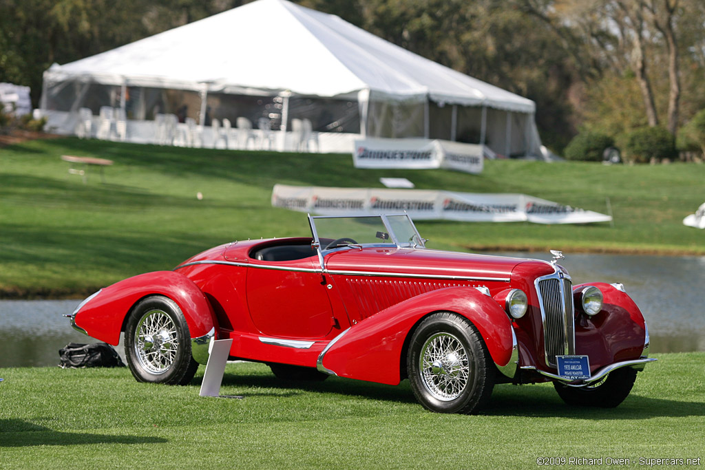 1935→1936 Amilcar Pégase G36 Racer