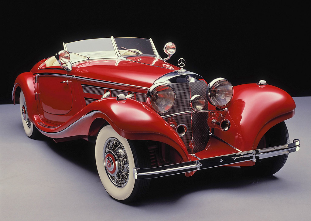 1935 mercedes benz 540 k spezial roadster review for Mercedes benz cars pictures