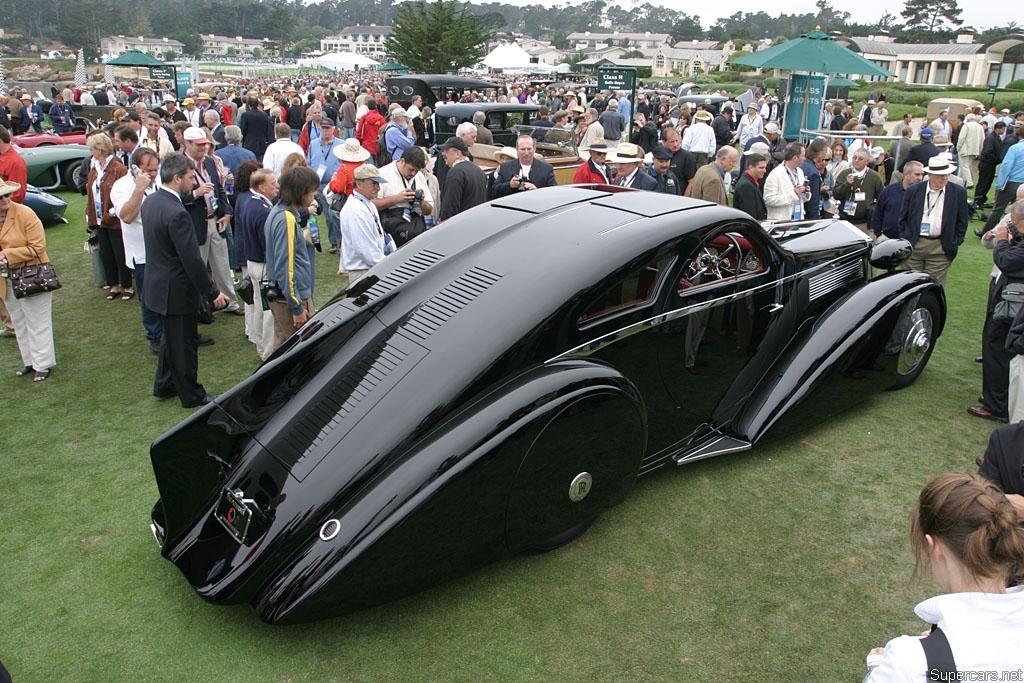 1935 Rolls-Royce Phantom I Jonckheere Coupe