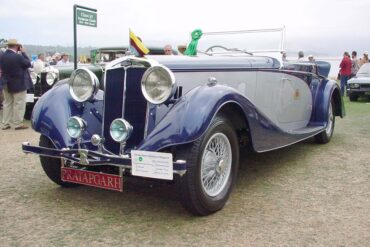 1936 Lanchester Straight 8