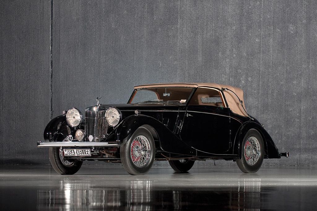 1936→1939 MG SA