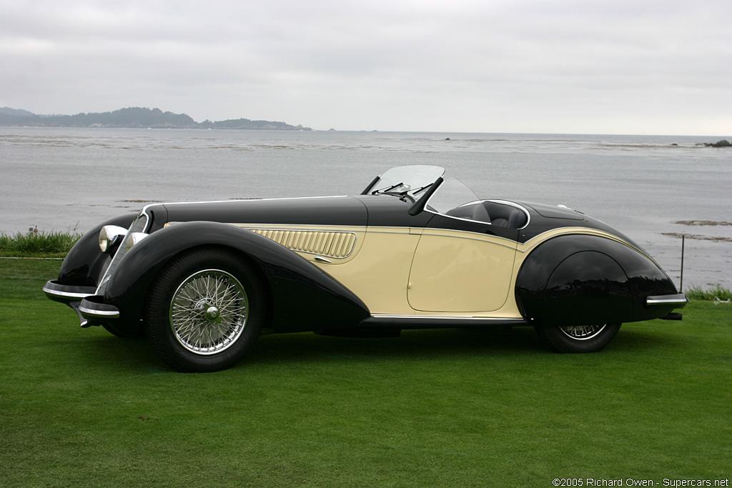 1937→1938 Alfa Romeo 8C 2900B Corto Spyder