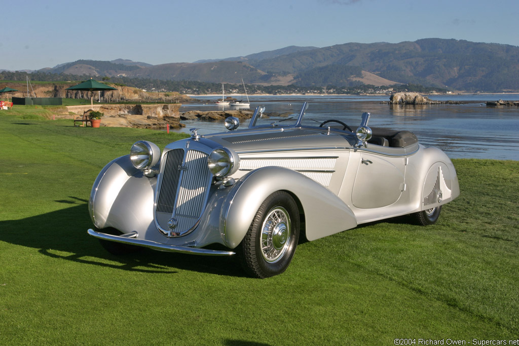 1937 1940 Horch 853a Sportroadster Supercars Net