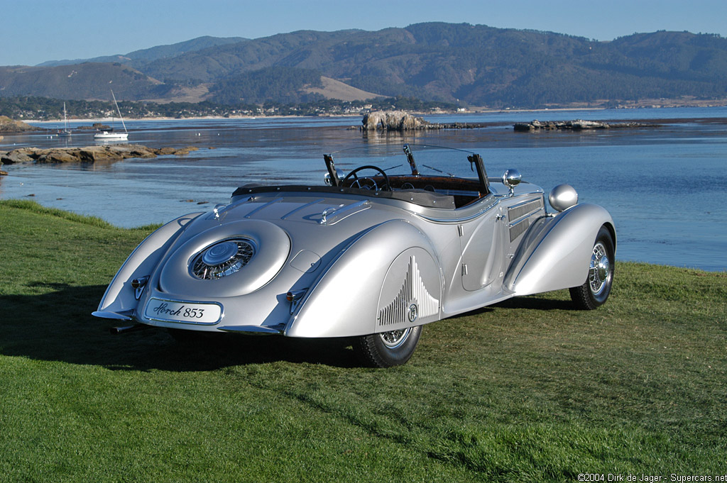 1937→1940 Horch 853A Sportroadster