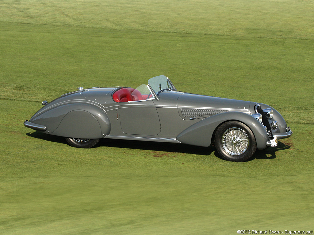 1938 alfa romeo 8c 2900b lungo spyder. Black Bedroom Furniture Sets. Home Design Ideas