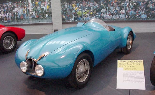 1939 Simca-Gordini Type 8