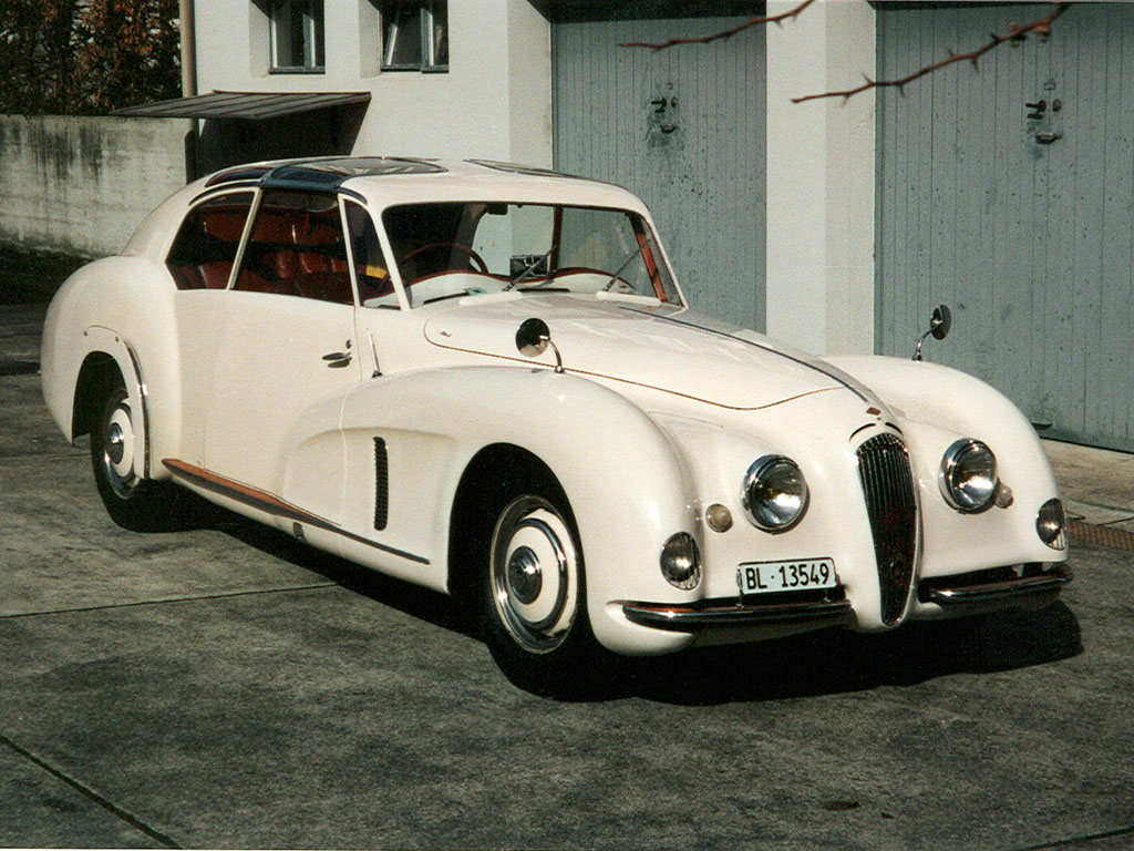 1949 Riley 2.5 Walter Köng Saloon