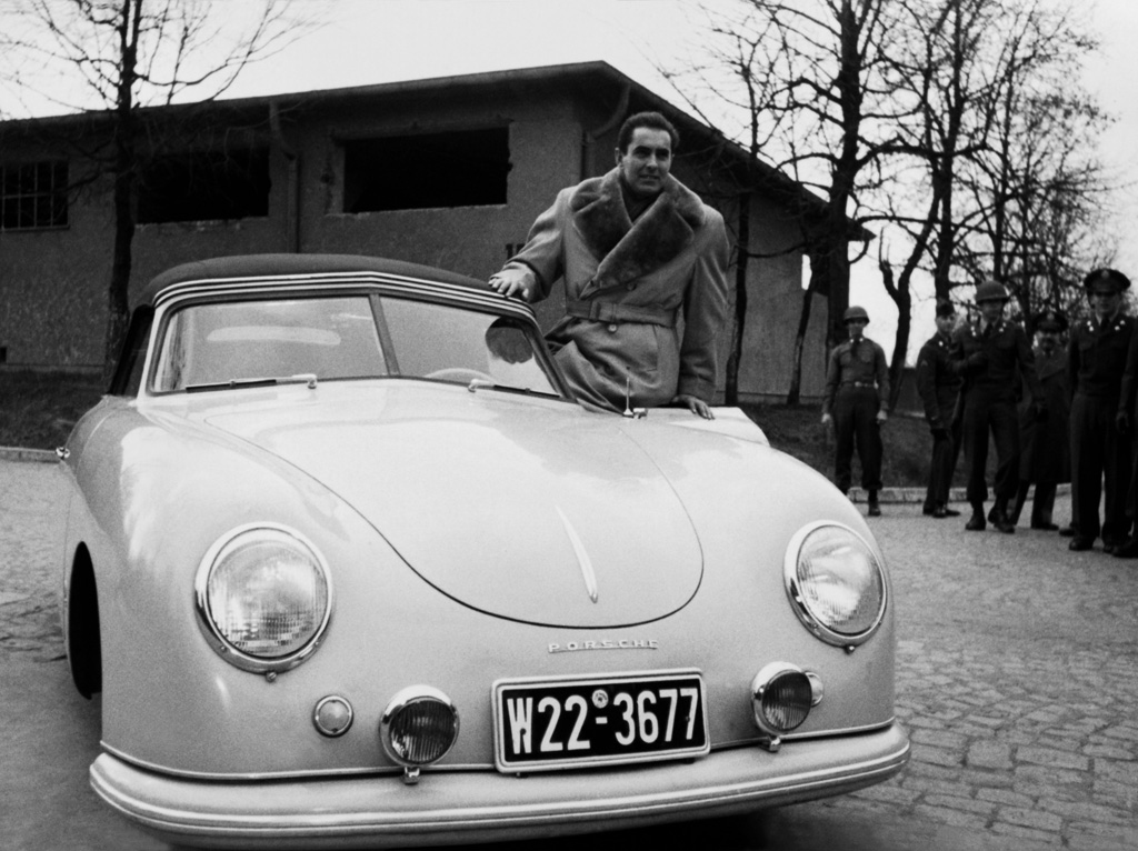 1950→1951 Porsche 356 'Split-Window' Cabriolet