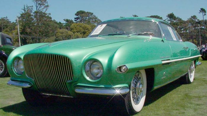 1952 Plymouth Explorer Ghia Sport Coupe