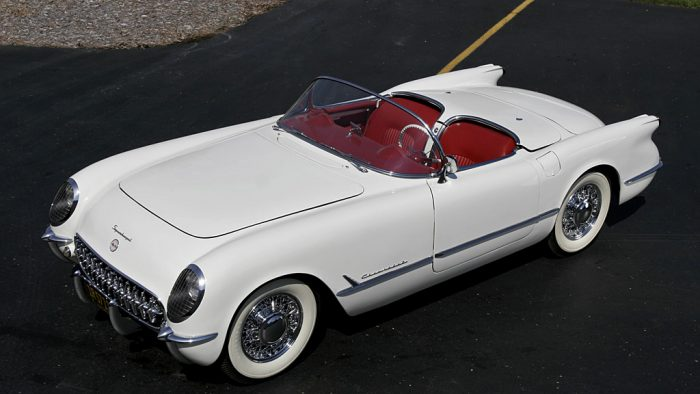 1953 McCulloch Supercharged Corvette