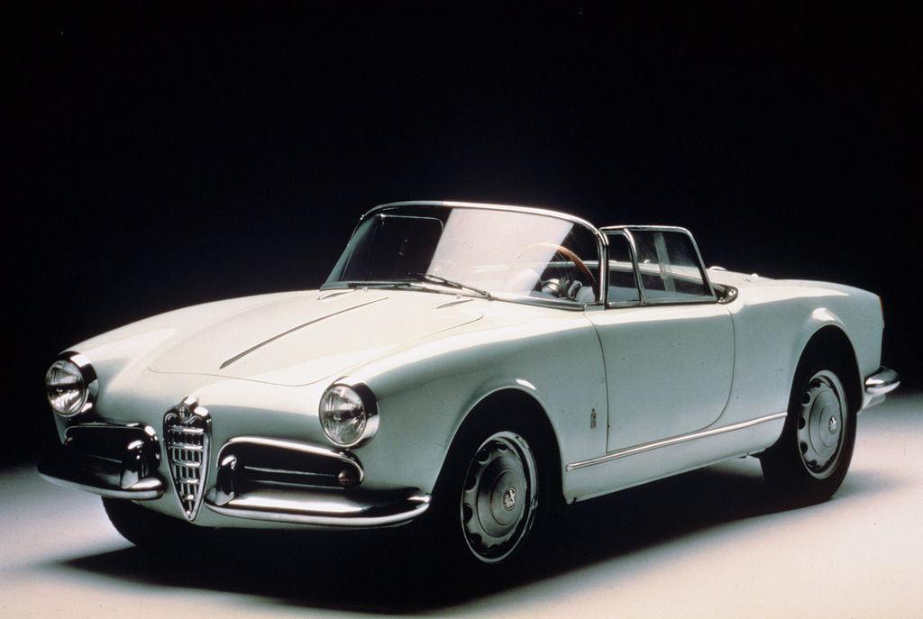 1955 alfa romeo giulietta spider alfa romeo. Black Bedroom Furniture Sets. Home Design Ideas