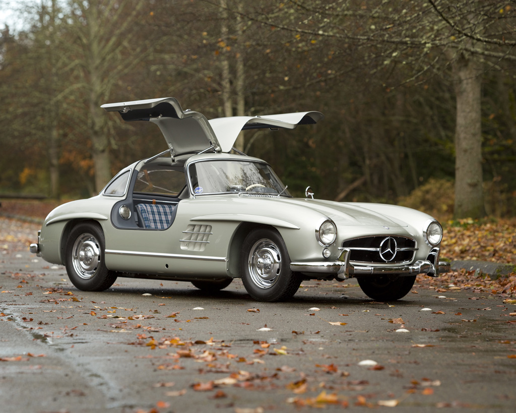 1955 mercedes benz 300 sl alloy gullwing. Black Bedroom Furniture Sets. Home Design Ideas