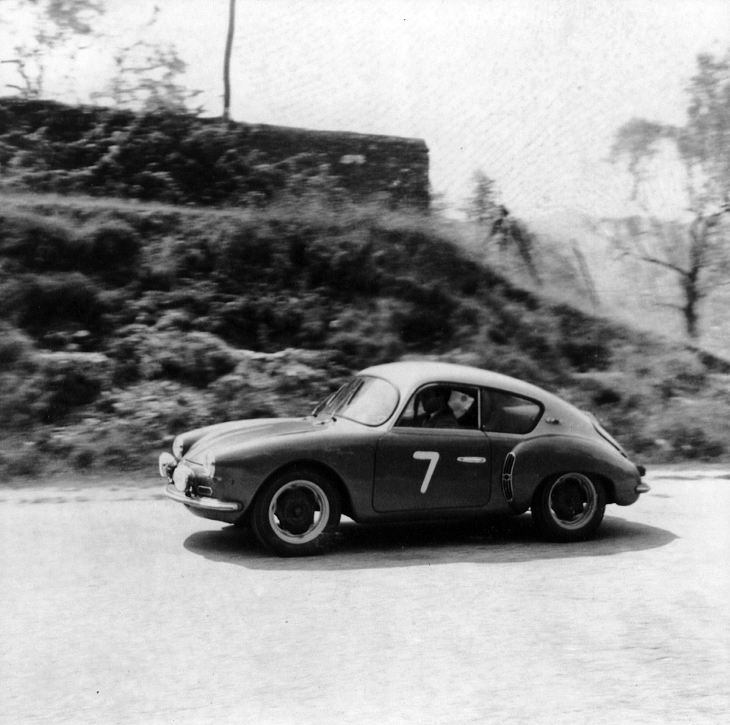 Volvo Cars Motorsport History Reflected At Techno: 1956 Alpine A106 'Mille Miles'