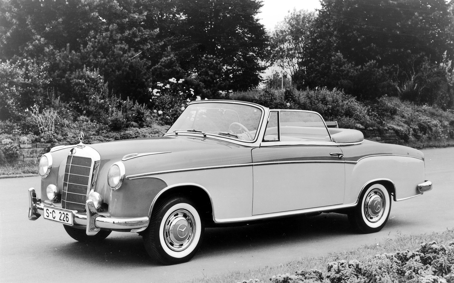 1956 1959 mercedes benz 220 s cabriolet for 1959 mercedes benz 220s