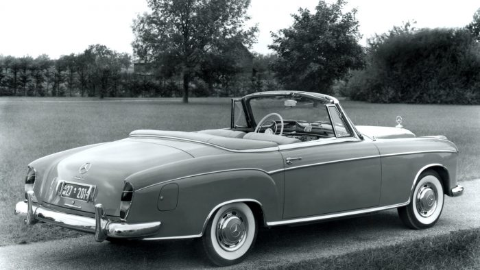 1956 1959 mercedes benz 220 s cabriolet review for Mercedes benz 700 series price