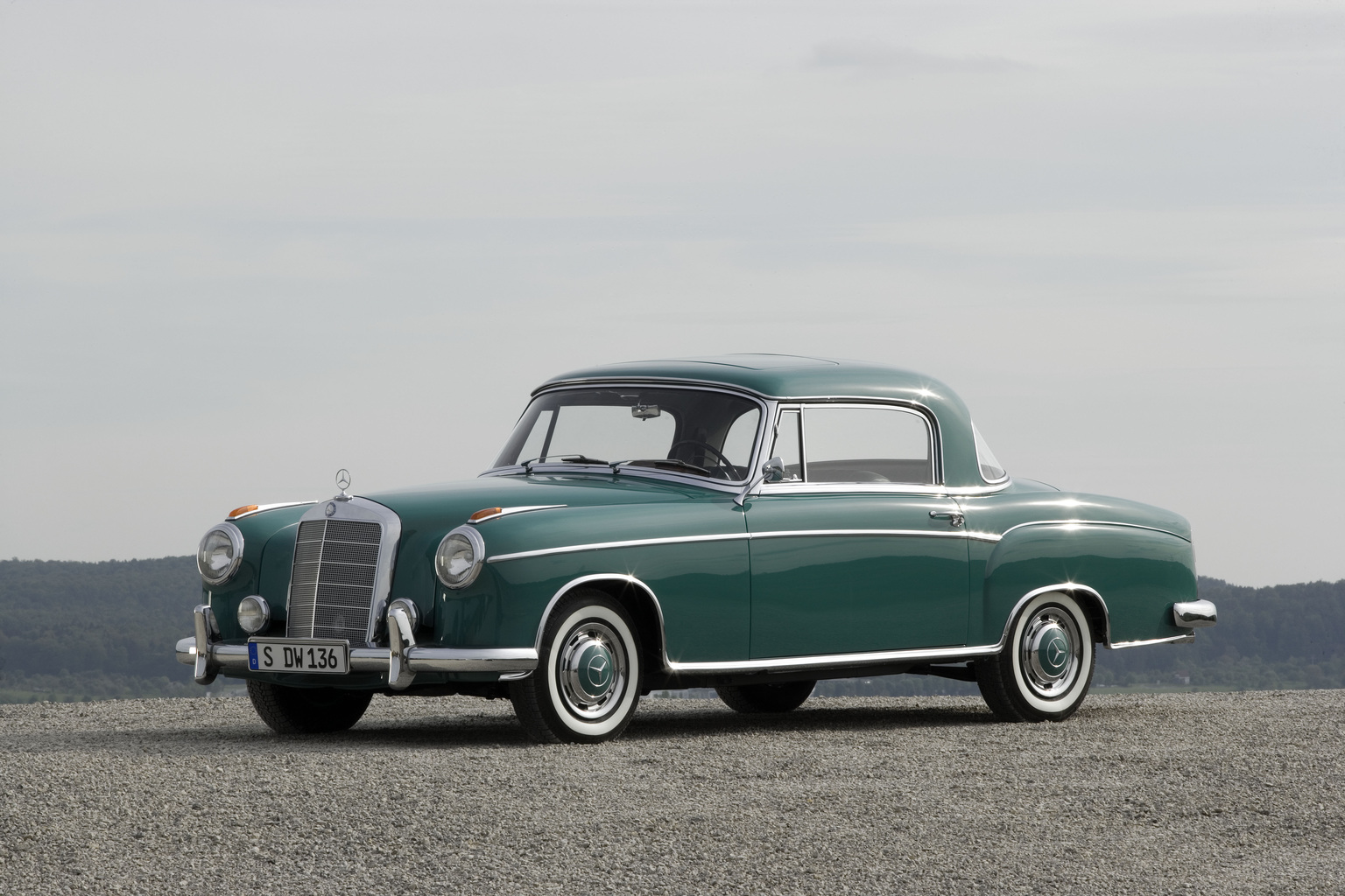 1959 1960 Mercedes Benz 220 Se Coup 233 Supercars Net