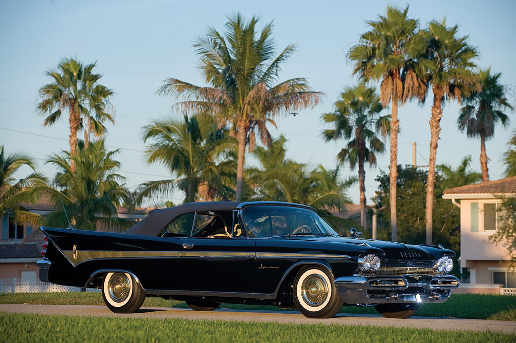 1959 Desoto Adventurer Convertible Coupe