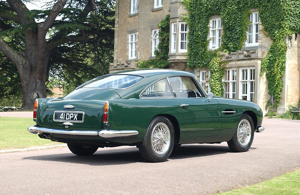 1960→1964 Aston Martin DB4 GT