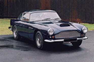 1960→1961 Aston Martin DB4 Series II