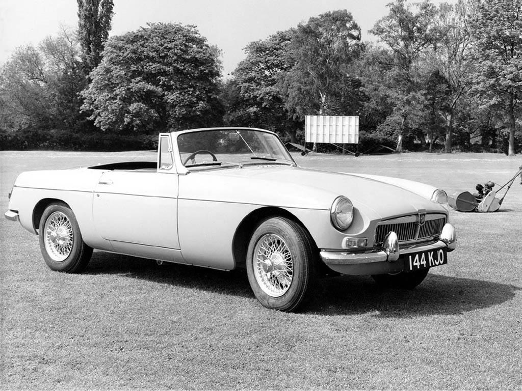 1962→1980 MG B