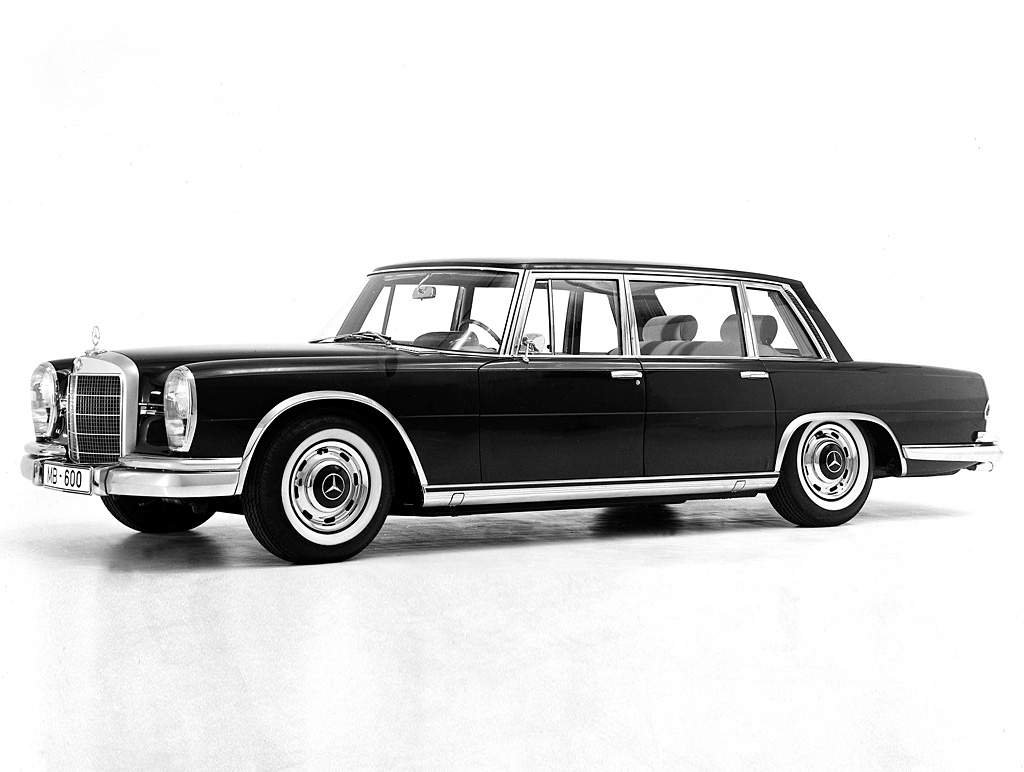 1963 1981 mercedes benz 600 limousine review for Mercedes benz limo