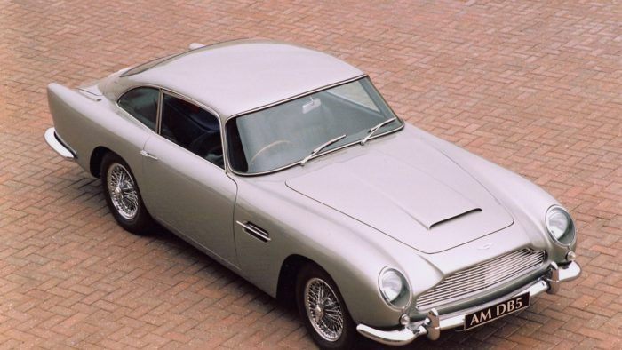 1960s supercar Aston Martin DB5