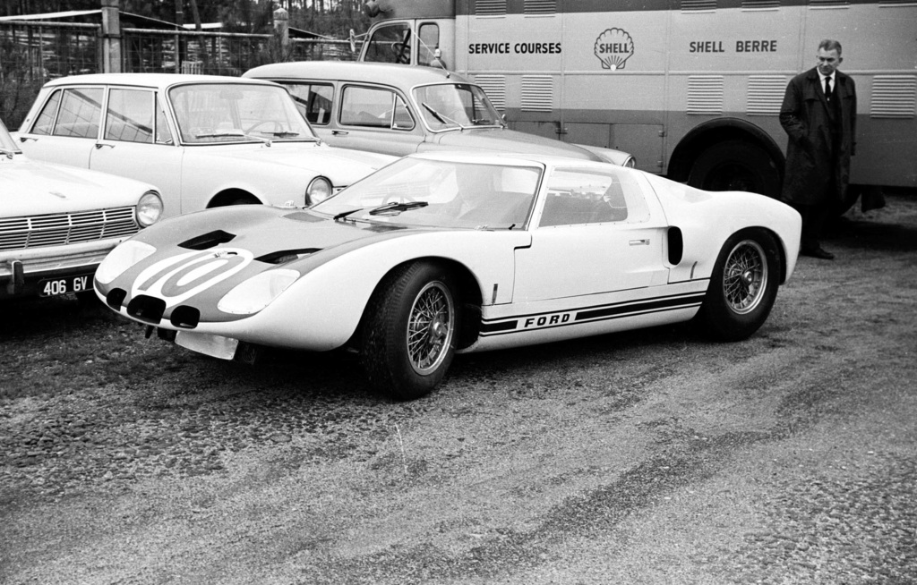 1964 Ford Gt40 Prototype Ford Supercars Net