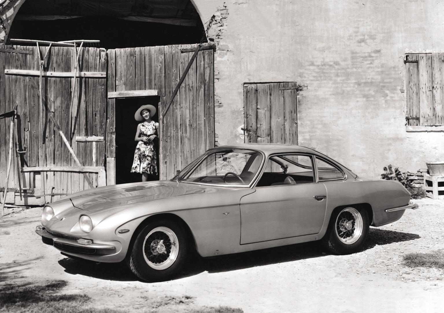 1966→1968 Lamborghini 350 GT