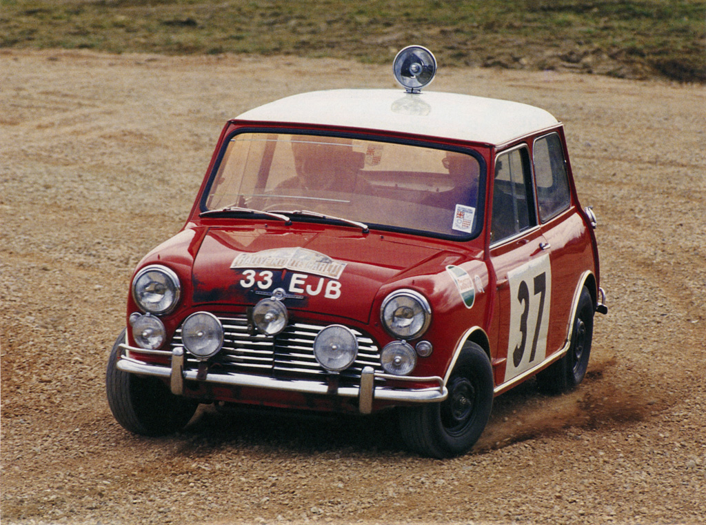 1964 morris mini cooper s works rally review. Black Bedroom Furniture Sets. Home Design Ideas