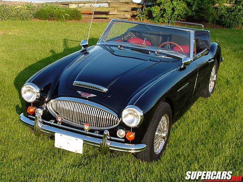 1965→1968 Austin-Healey 3000 MKIII BJ8 'Phase II'