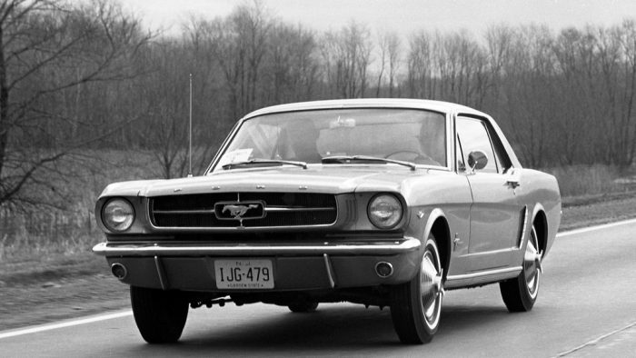 1964→1965 Ford Mustang Hardtop