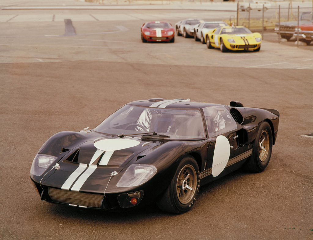 ford gt concept history ford gt40 mach ii