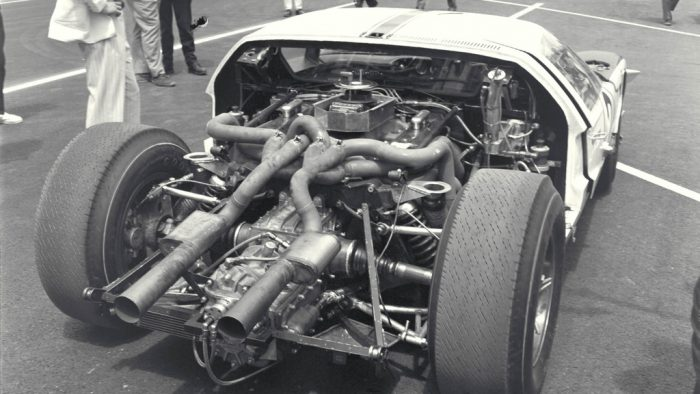 the business end of the 427 cid prototype ford mkii cd0776 3301 4355 15