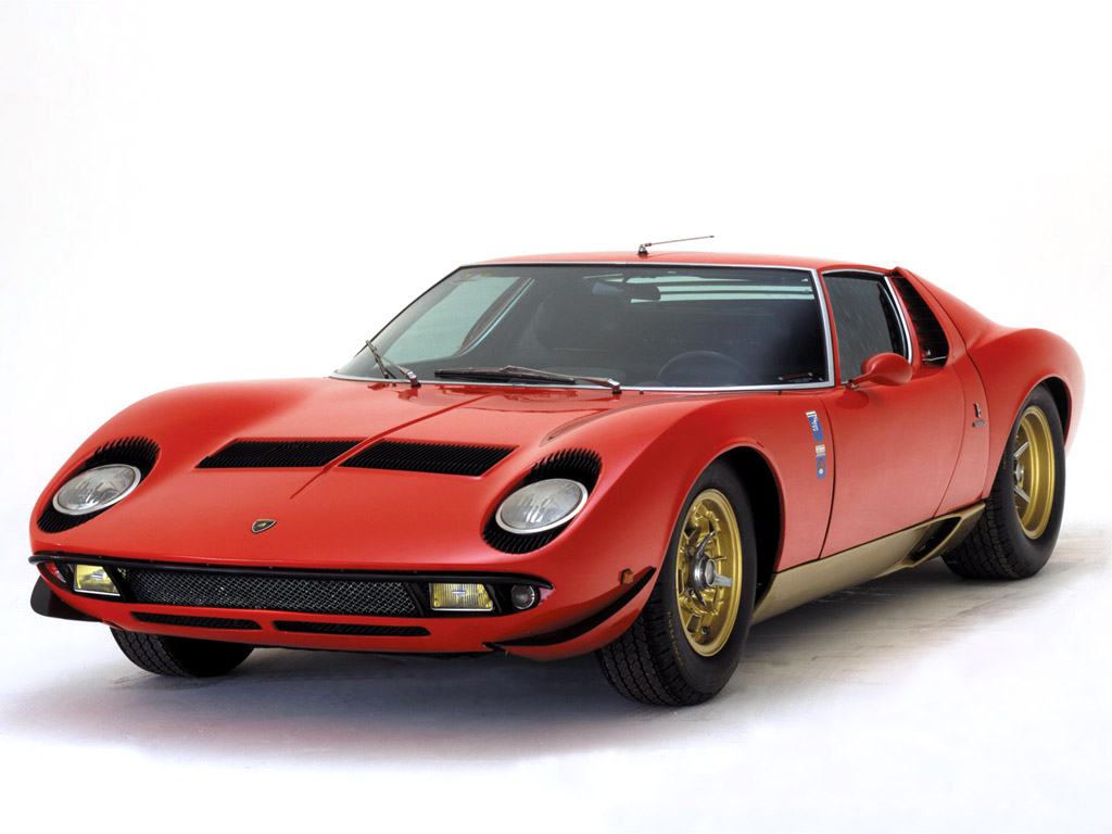 1968 Lamborghini Miura P400 Pics Information