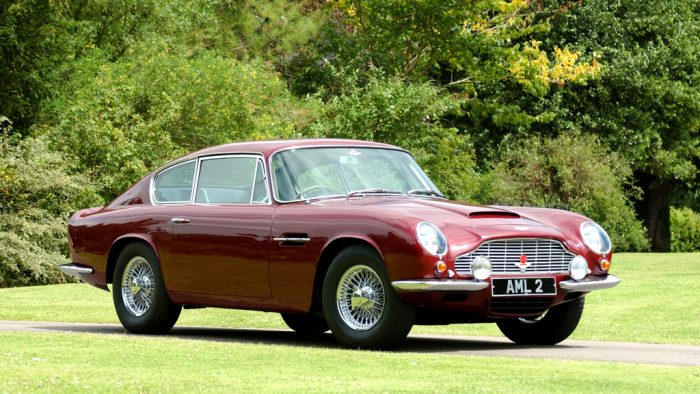 1969 Aston Martin DB6 Mark 2 Vantage
