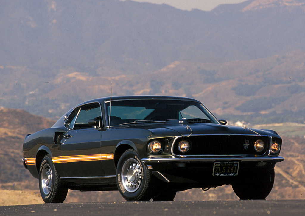 1969 Ford Mustang Mach 1. Photo Credit: David Newhardt's Mustang 40 Years book