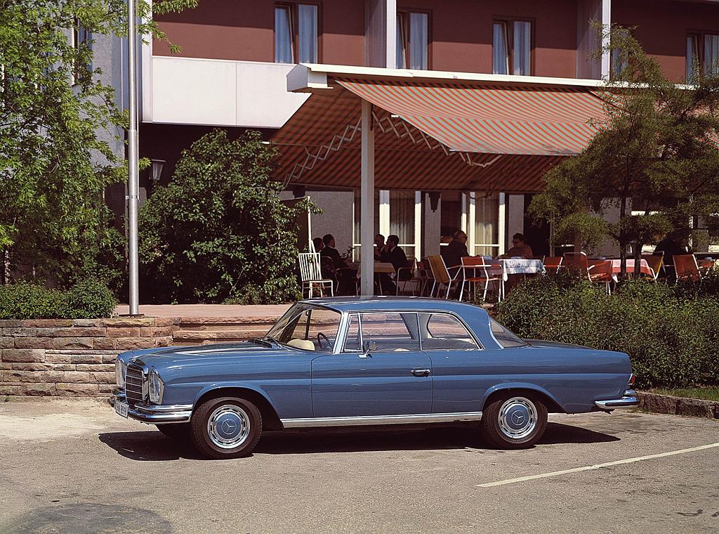 1969→1971 Mercedes-Benz 280 SE 3.5 Coupé