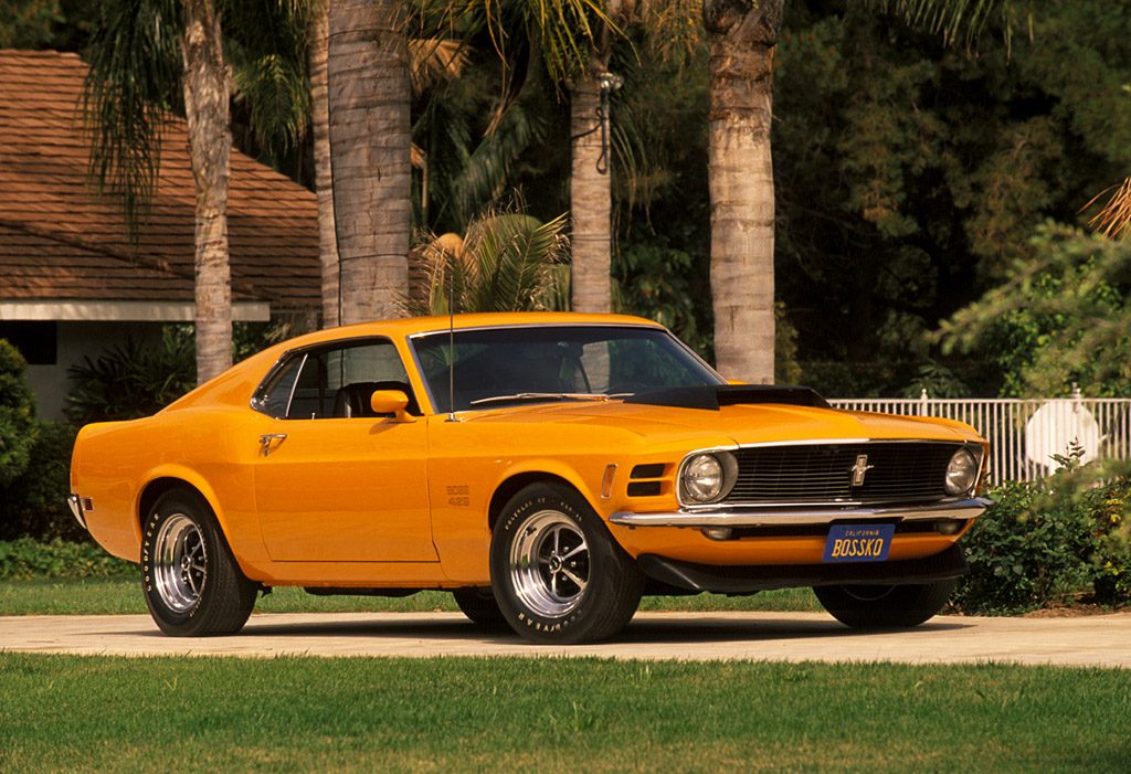 1970 Ford Mustang Boss 429 Supercars Net