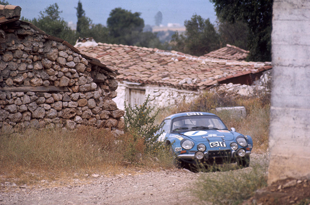 1971 Alpine A110 1600 Group 4