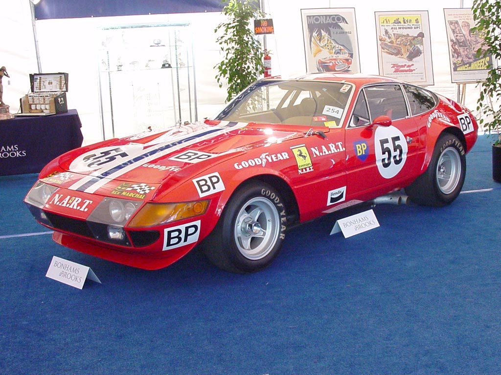 1971 Ferrari 365 GTB/4 Daytona Competizione S1