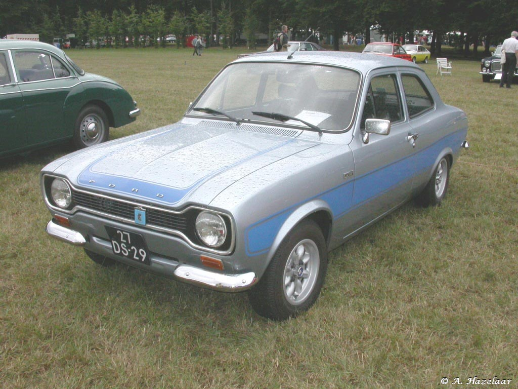 1975 Ford Escort RS2000 Mk 1
