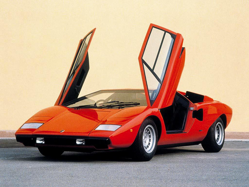 1974→1978 Lamborghini Countach LP400 'Periscopo'